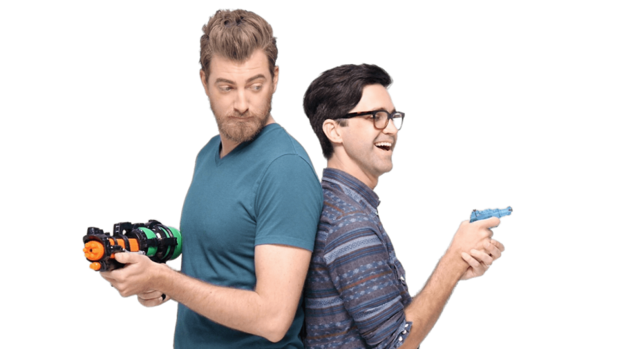 YouTubers Rhett And Link have over 14 million subscribers.