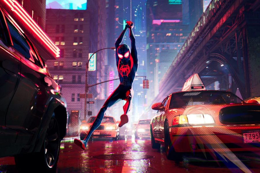 Now Showing: Spider-man: Into the Spider-verse