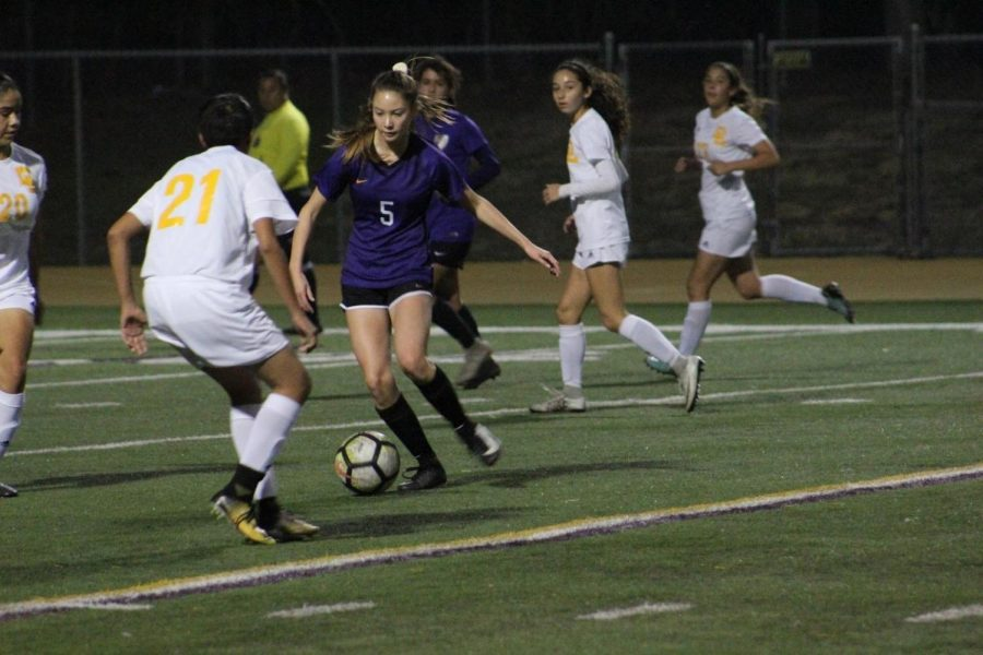 Sophomore+Emily+Le+made+a+goal+in+the+girl%E2%80%99s+blowout+game+against+Don+Lugo%2C+6-1%2C+the+highest+they%E2%80%99ve+scored+since+2015.