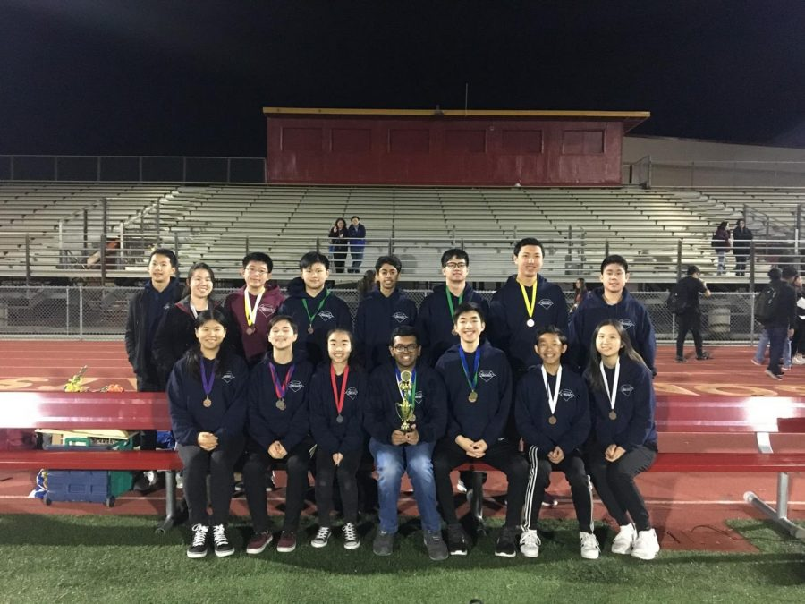 Science Olympiad placed fifth out of 37 at the Wilson Invitational competition last weekend in Hacienda Heights; the top six in each event received medals.
