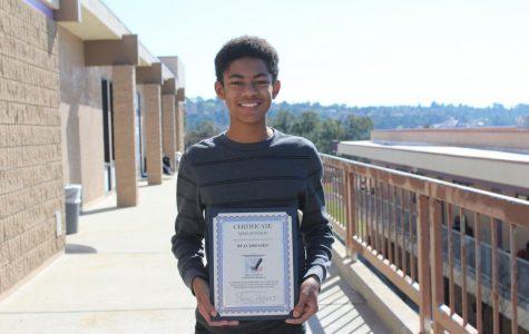 Sophomore wins MLK Jr. essay scholarship