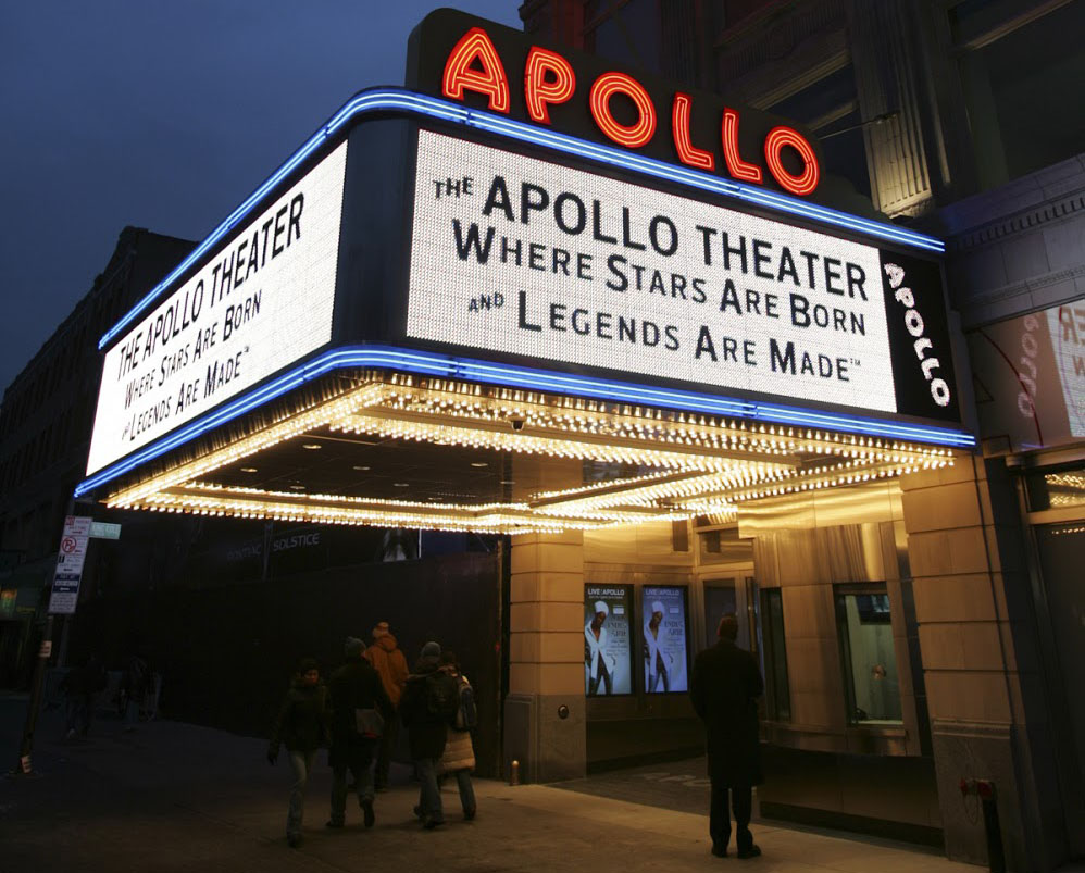 Many iconic performances have taken place at the Apollo.
