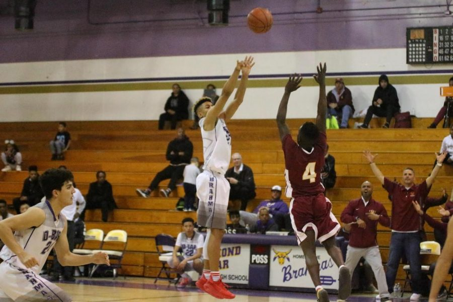 Senior Myles Corey contributed 25 points and 10 rebounds in the first CIF game.