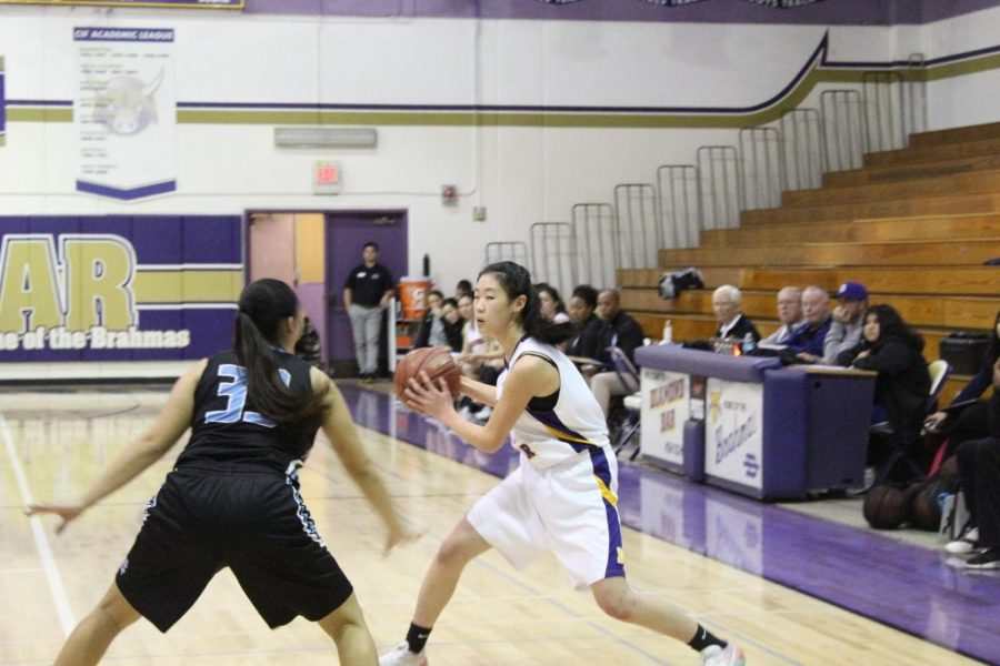 Junior Karen Shao averaged 10.8 points, 5 rebounds, and 3.4 steals per game as a starter during the regular season.
