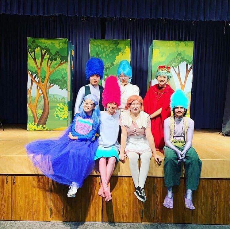 Intermediate+Drama+students+perform+a+play+based+on+the+movie+%22Trolls%22+at+eight+elementary+schools+from+Jan.+29-31+for+the+annual+Children%27s+Theater.