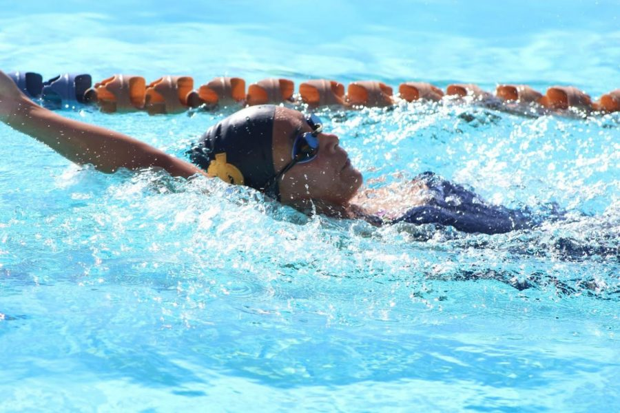 The girls team have had trouble this season, with less swimmers per event and low placements in recent meets.