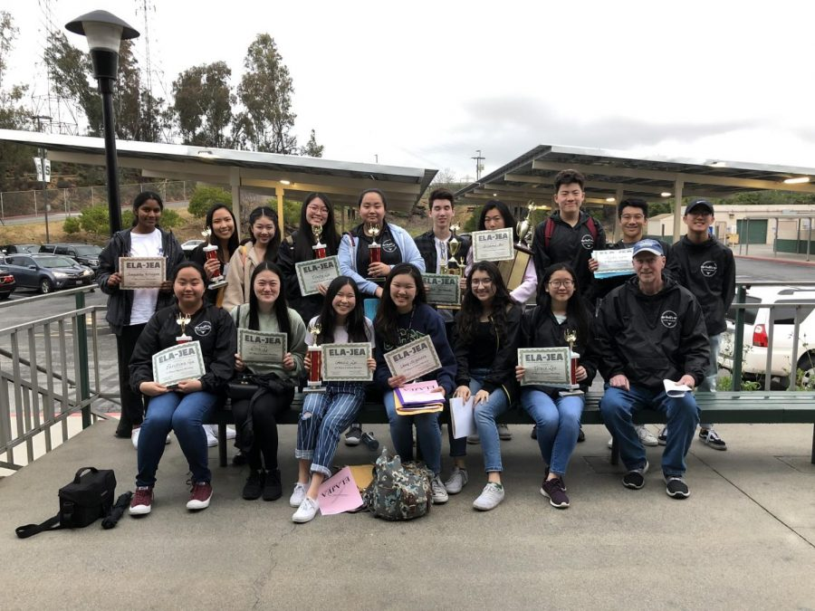 The+DBHS+Bull%E2%80%99s+Eye+won+first+place+newspaper+sweepstakes+at+regionals.