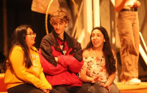 James and the Giant Peach musical rehersal