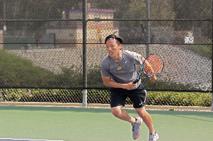 Senior captain Royce Park won his match in the sweep against Chaffey, 18-0.