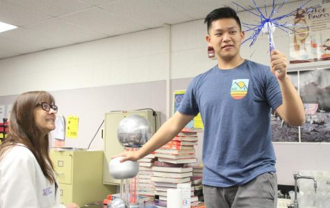 Science instructor honored by colleagues