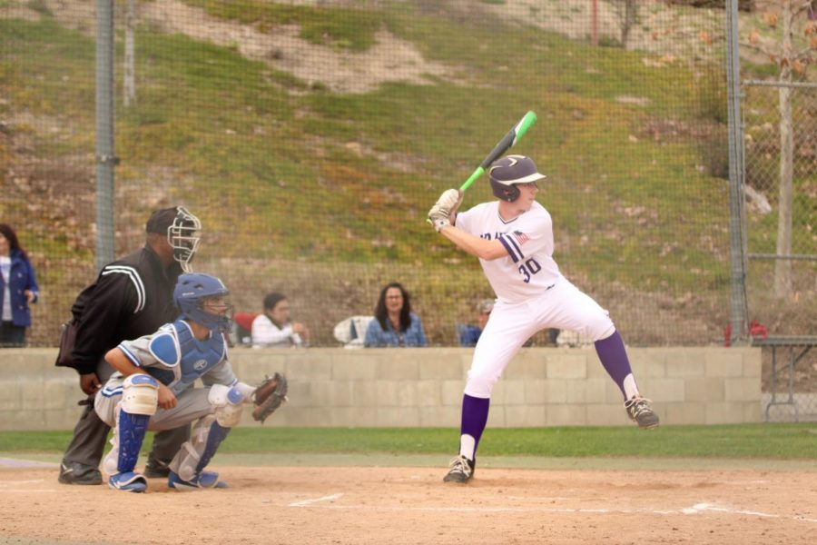 Junior Will Murphy had a .288 batting average and scored 12 runs for the team.