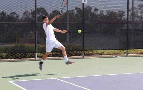 Boys Tennis – First Round of CIF
