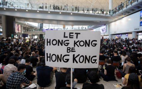 Hong Kong protesters overstep boundaries