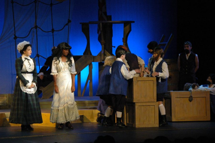 """Peter and the Starcatcher"" catches audience laughter"