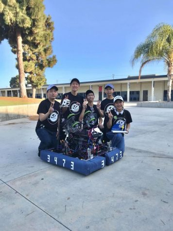 Robotics places second in Beach Blitz