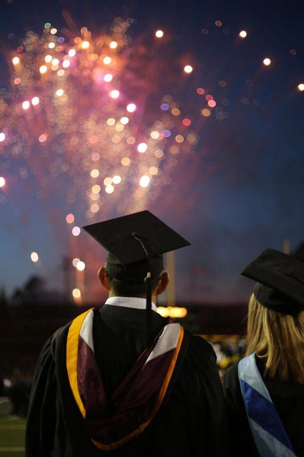 Fireworks+at+class+of+2019+graduation