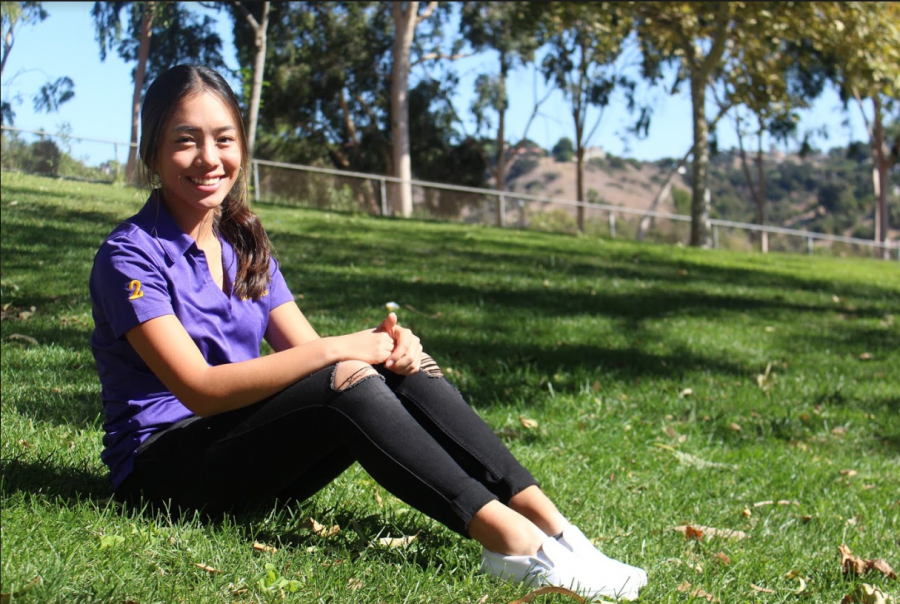 Senior Angelica Kusnowo started playing golf eight years ago and was able to display her talents throughout her high school career on the DBHS golf team.