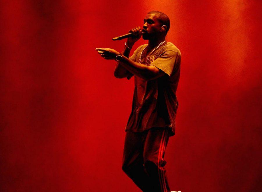 Kanye praises the Lord