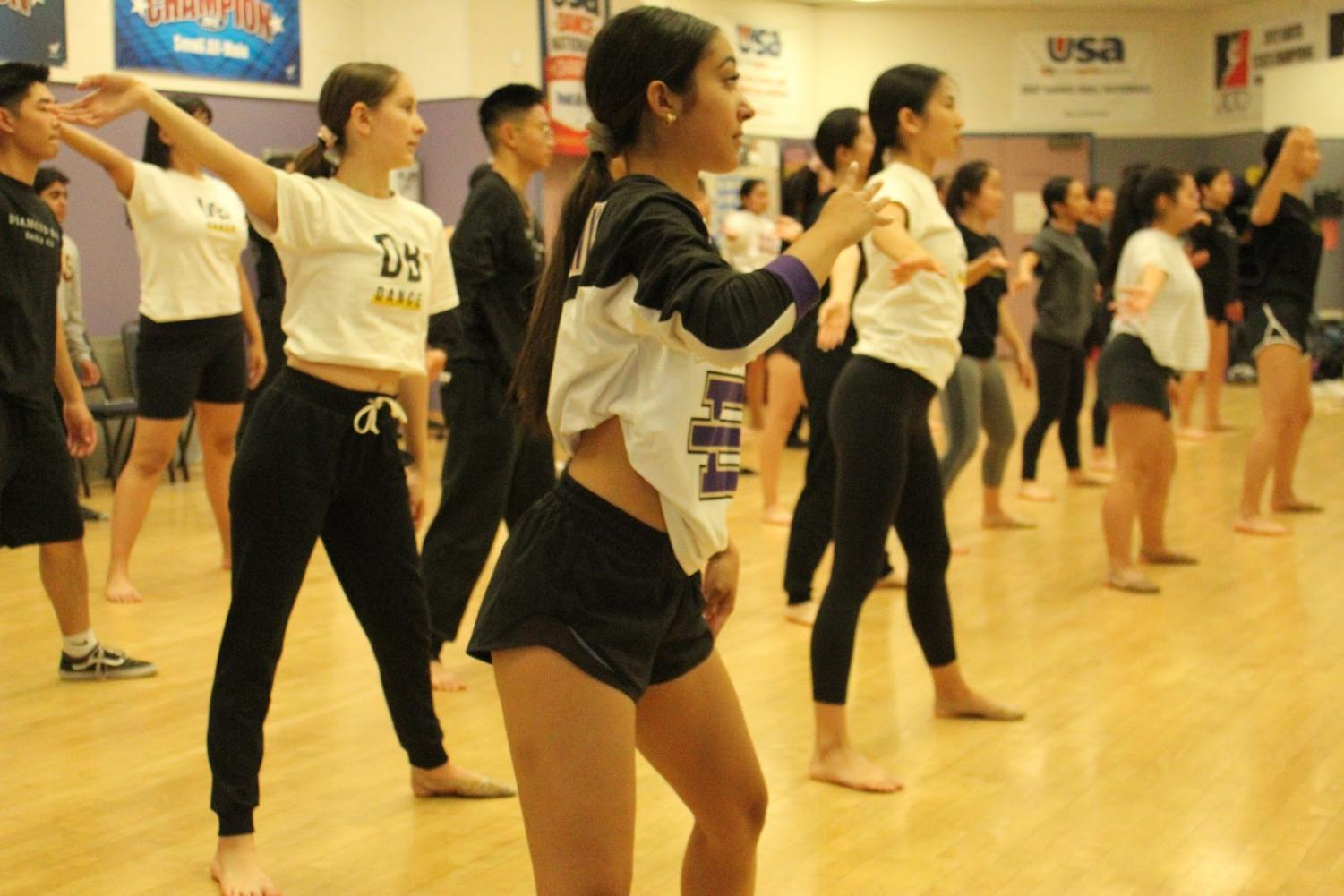 Members of the DBHS Dance Company will teach children at the youth camp.
