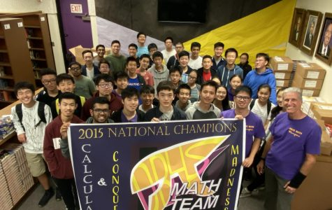 Math team derives success from competition