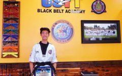 Mastering his passion for taekwondo