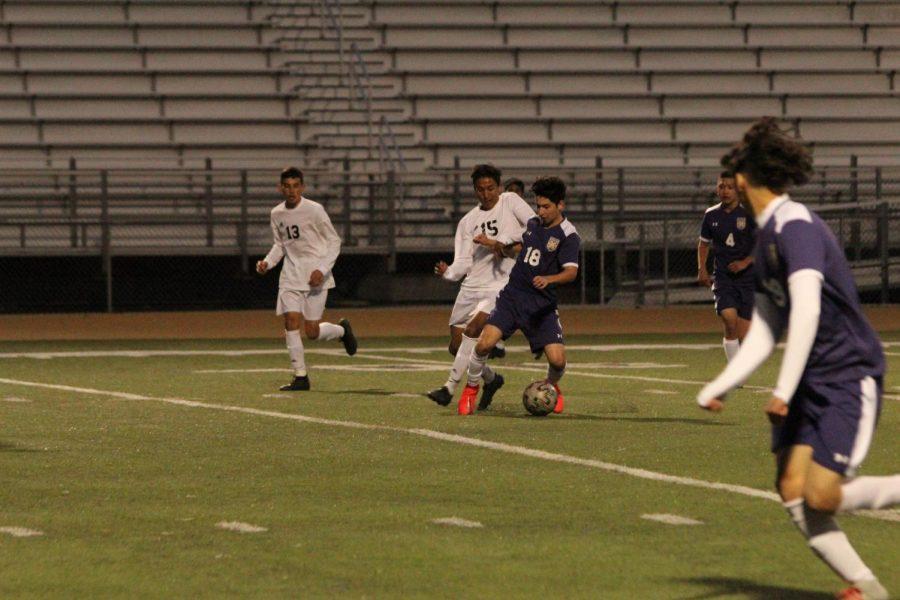Boys soccer versus Chaffey