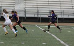 Girls soccer versus Don Lugo