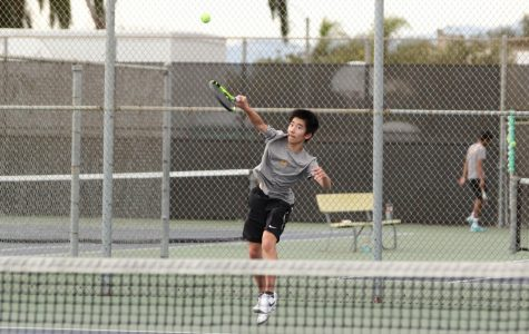 Tennis begins with win down the line