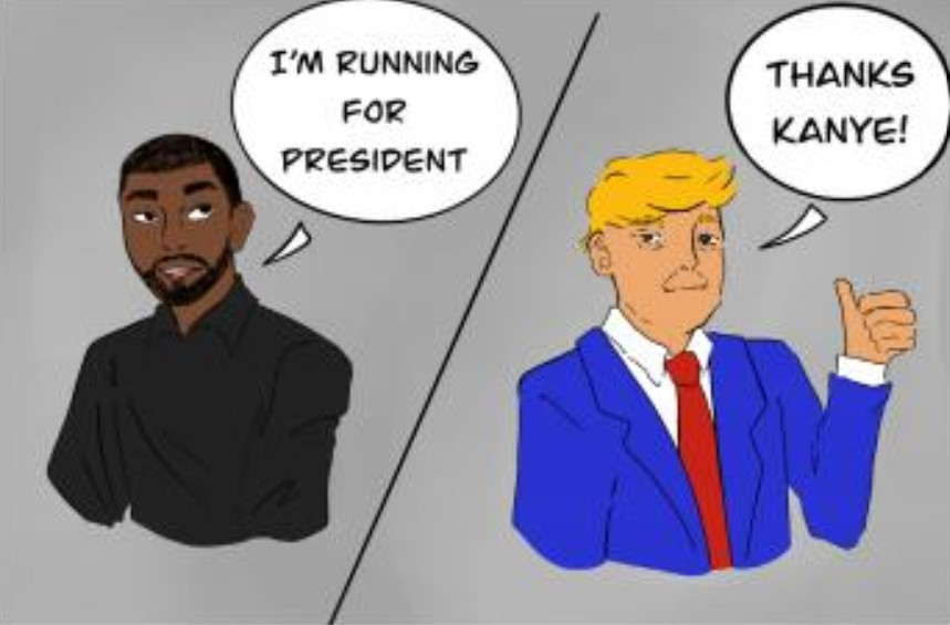 Subversively Satirical: A Yeezy Choice for President