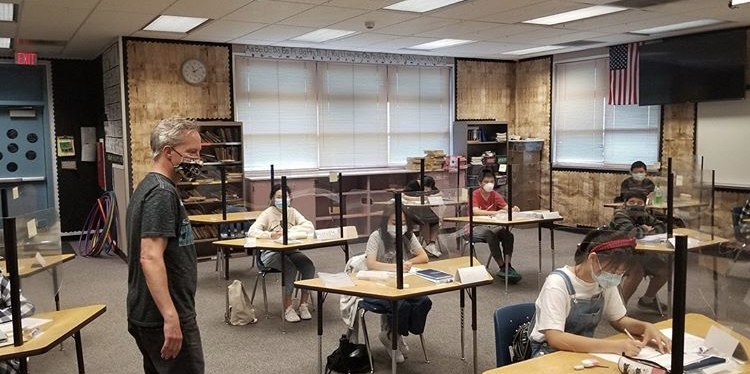 English learners return to class