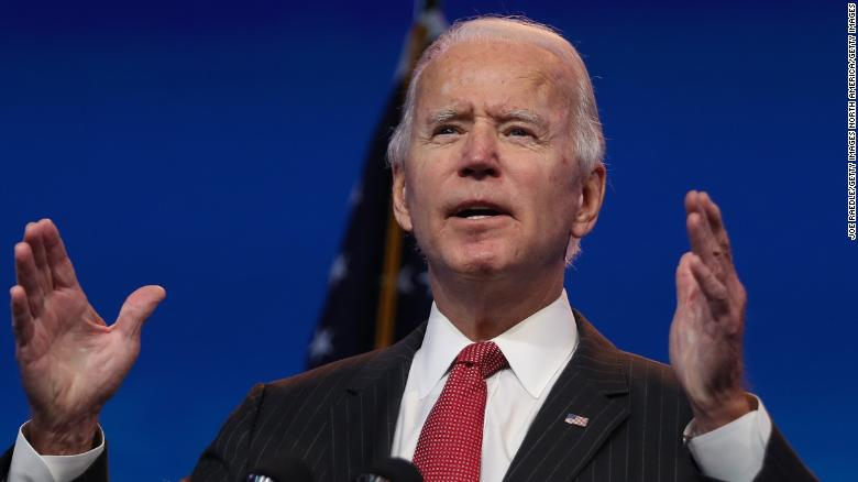 Mail-in votes elect Joe Biden