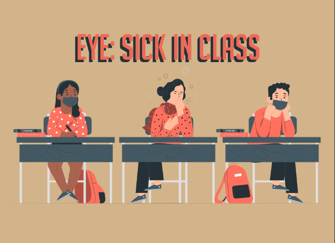 Eye of the Editors: Attending school sick