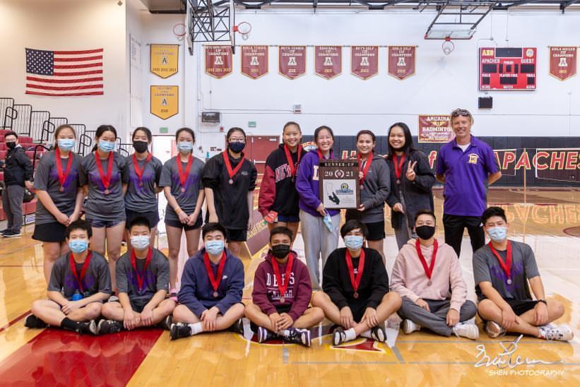 Badminton team triumphs in league