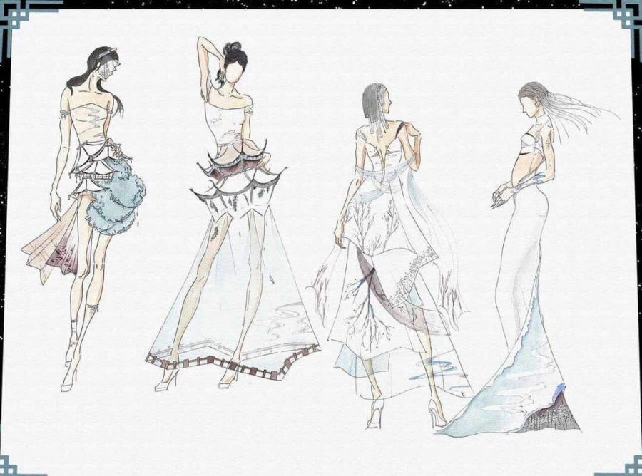 From fashion sketches to NYC