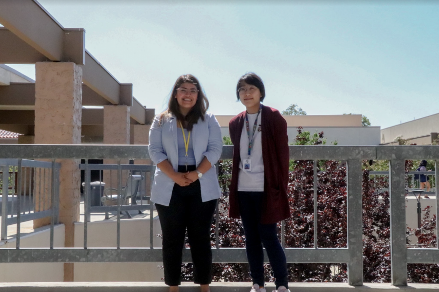 Giovanna+Santiago+%28left%29+and+Geraldine+Chan+bring+their+expertise+to+campus.