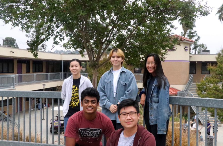 Serena Shih, Akash George, Eileen Zu, Steven Tjandra and Julienne Nguyen are five out of the fifteen Diamond Bar High School students named semifinalists.